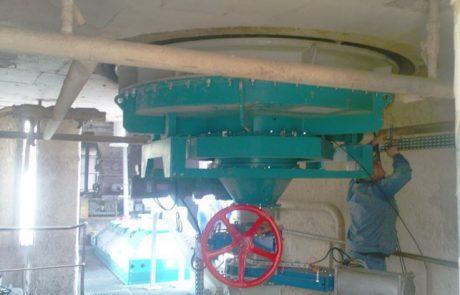 Concrete silo reactivated by CENTRAC-F