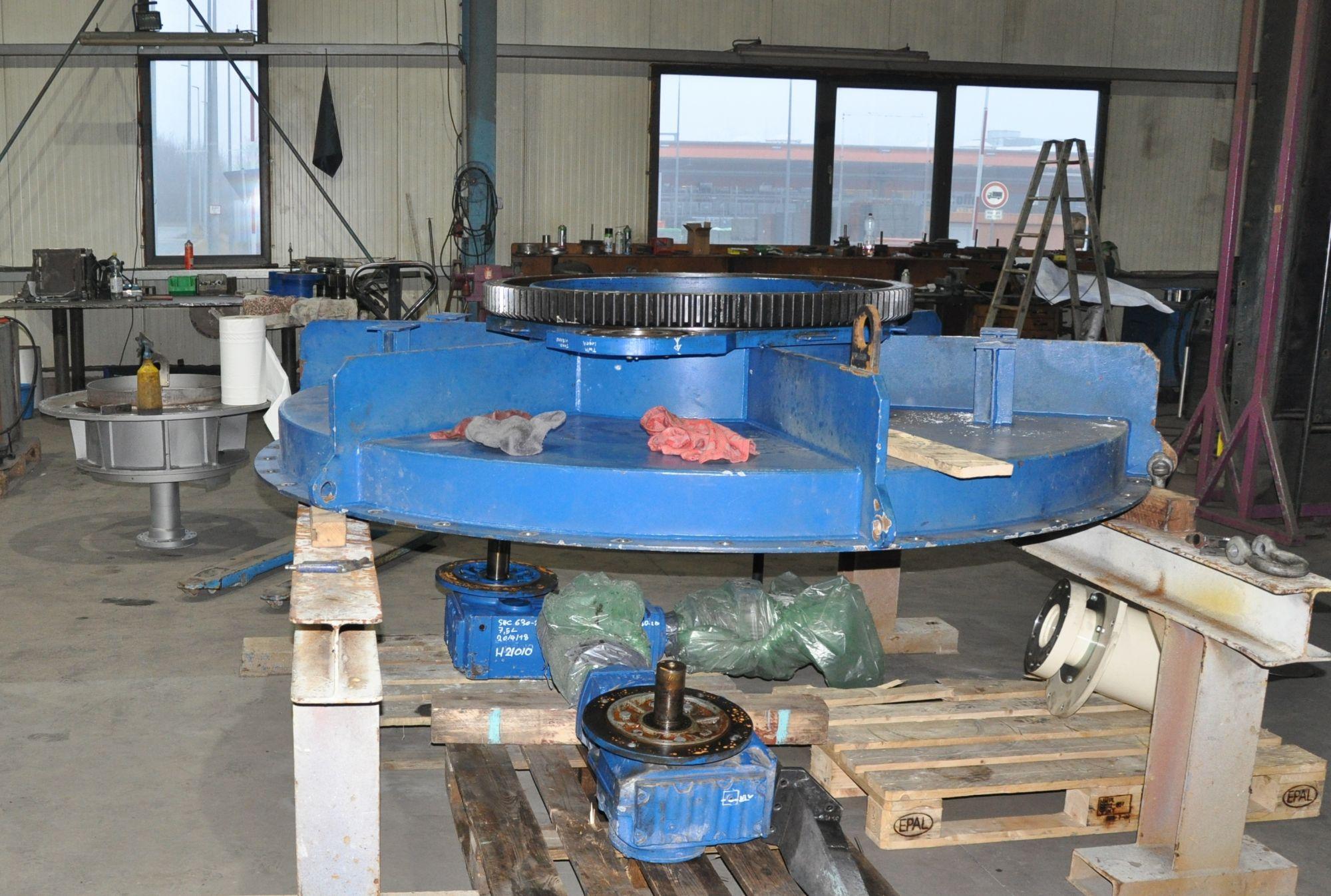Overhaul of still perfect silo unloader